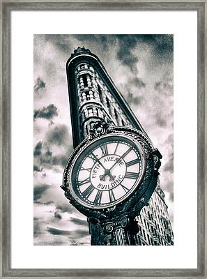 Time Will Tell Framed Print by Jessica Jenney