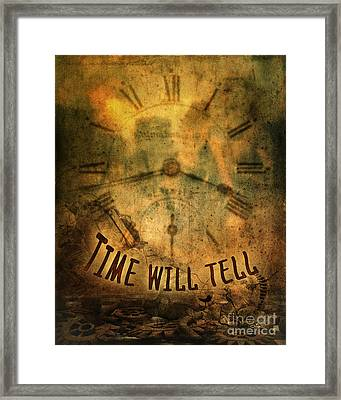 Time Will Tell Framed Print