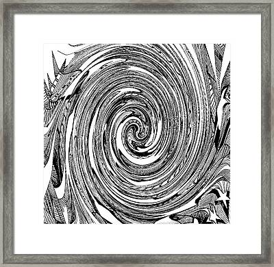 Time Without Emotions Framed Print