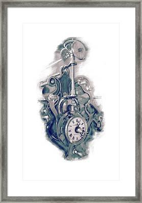 Time Works Framed Print by Louis Prinsloo