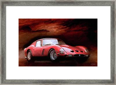 Timeless 250 Gto Framed Print by Peter Chilelli