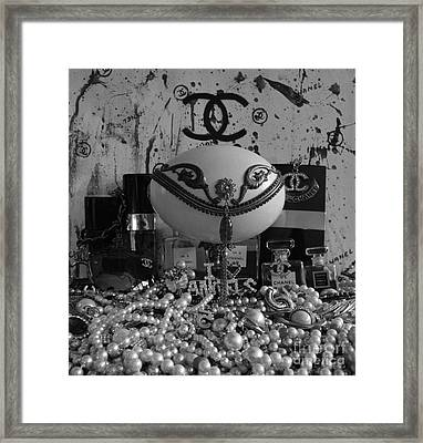 Timeless Accessories Black And White Framed Print by To-Tam Gerwe