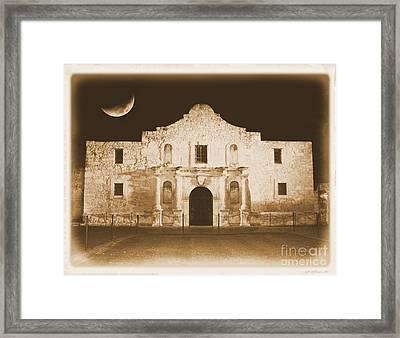 Timeless Alamo Framed Print by Carol Groenen