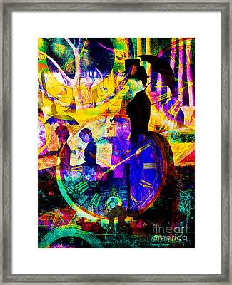 Timeless Art A Sunday On La Grande Jatte 20160229 Vertical Framed Print by Wingsdomain Art and Photography
