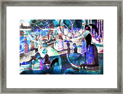 Timeless Art A Sunday On La Grande Jatte 20160229 Framed Print by Wingsdomain Art and Photography