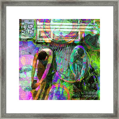 Timeless Art The Floor Scrapers 20160305 Square Framed Print by Wingsdomain Art and Photography