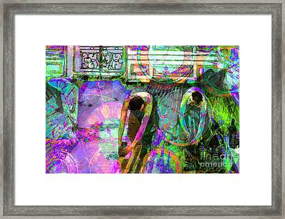 Timeless Art The Floor Scrapers 20160305 Framed Print by Wingsdomain Art and Photography