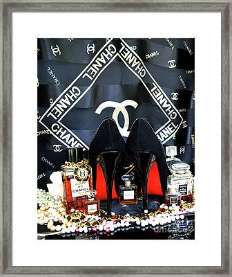 Timeless Beautiful Accessories 32 Framed Print by To-Tam Gerwe