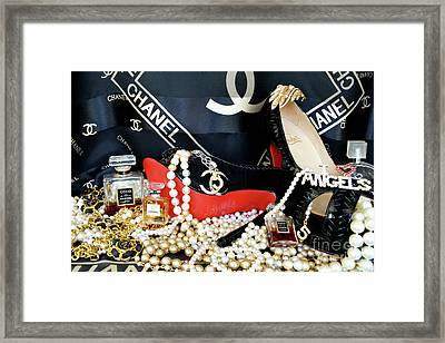Timeless Beautiful Accessories 33 Framed Print by To-Tam Gerwe