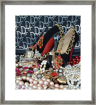 Timeless Beautiful Accessories 38 Framed Print