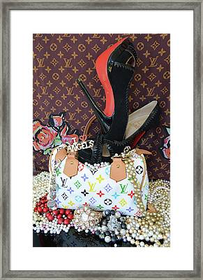 Timeless Beautiful Accessories 42 Framed Print by To-Tam Gerwe