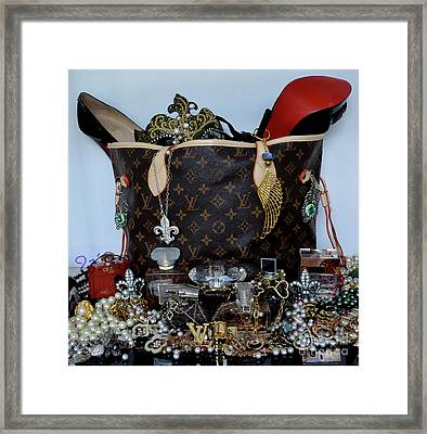 Timeless Beautiful Accessories 46 Framed Print