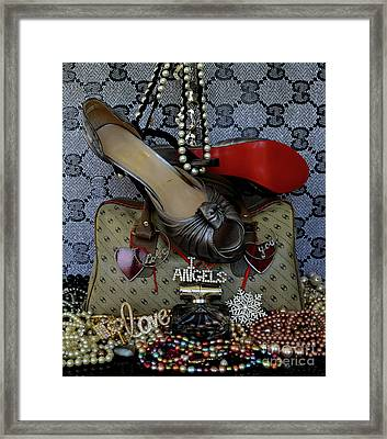 Timeless Beautiful Accessories 63 Framed Print