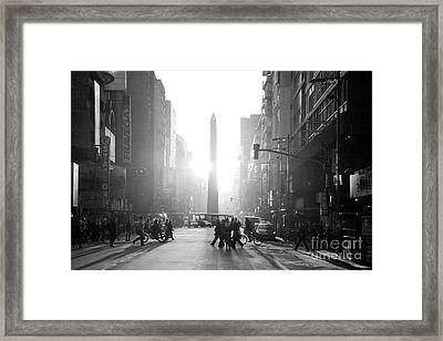 Timeless Buenos Aires Framed Print