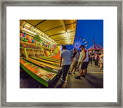 Timeless Competition Framed Print