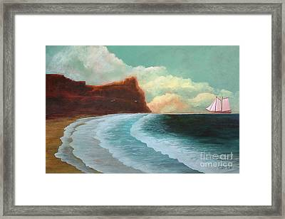 Timeless Framed Print by Corey Ford