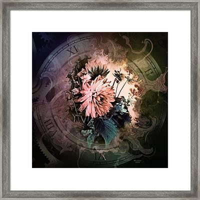 Timeless Dahlia Framed Print