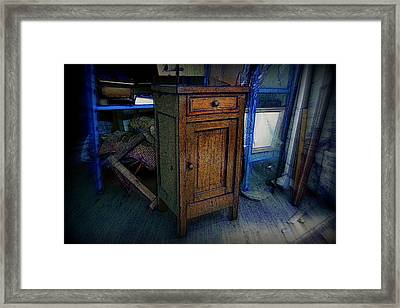 Timeless Furniture In The Warehouse. Framed Print by Riccardo Maffioli