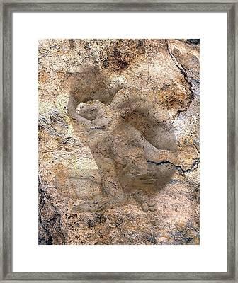 Timeless Male Framed Print by Kurt Van Wagner