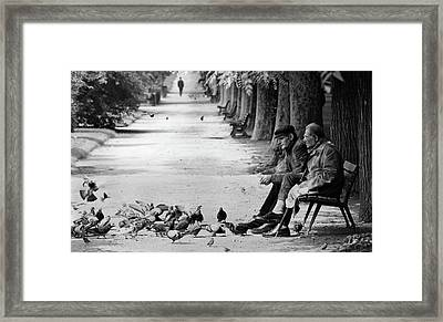Timeless Paris Framed Print
