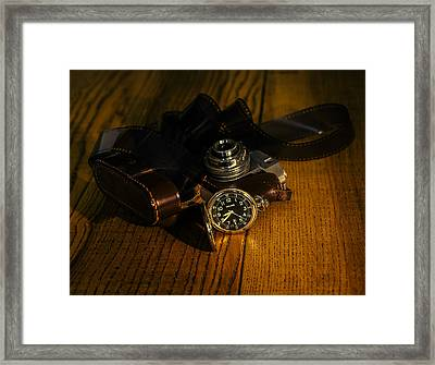 Timeless Photography Framed Print by Cesare Bargiggia