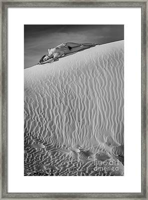Timeless Sand Framed Print