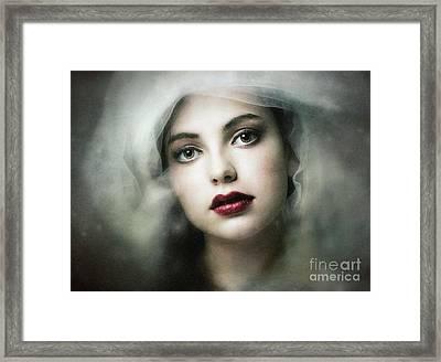 Timeless Framed Print by Spokenin RED