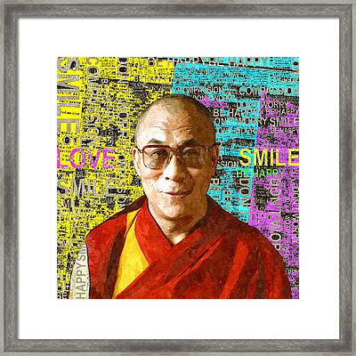 Timeless Wisdom Framed Print by Stacey Chiew