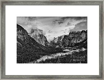 Timeless Yosemite Framed Print by Jamie Pham