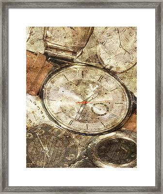 Timepieces Framed Print