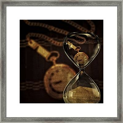 Timepieces Framed Print by Susan Candelario