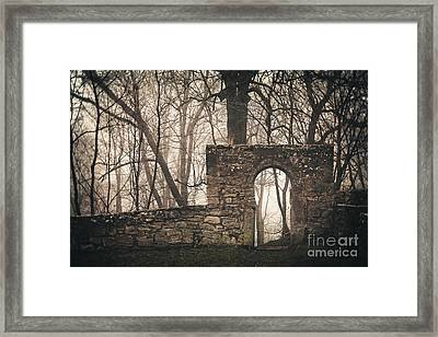 Times Past Framed Print