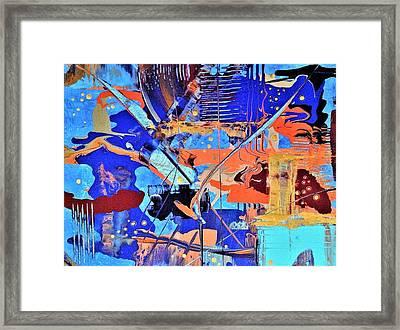 Timestorm Framed Print