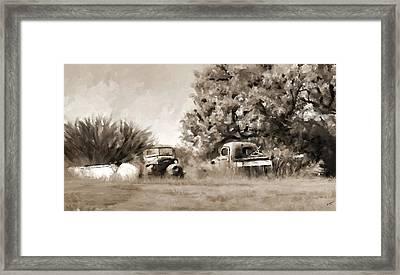 Timeworn Framed Print
