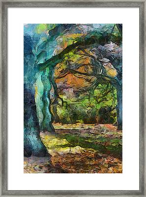 Timothy Leary Road Framed Print