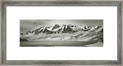Timp Above Deer Creek Framed Print