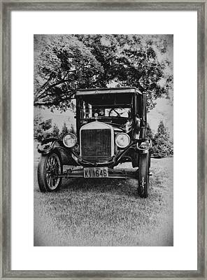 Tin Lizzy - Ford Model T Framed Print by Bill Cannon