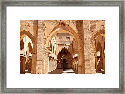 Tin Mal Mosque Framed Print by Axiom Photographic