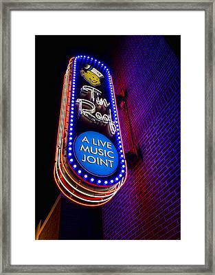 Tin Roof Beale Street Framed Print