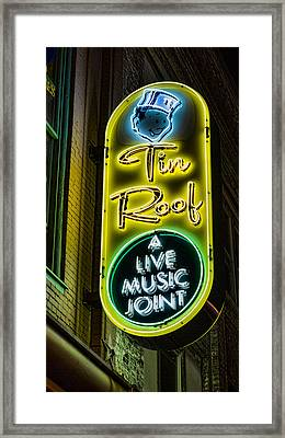 Tin Roof Framed Print