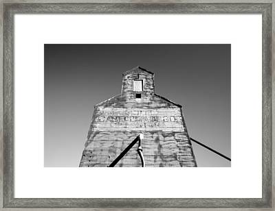 Tin Roof Framed Print by Todd Klassy