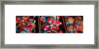 Tin Toys Framed Print