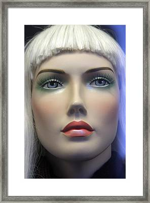 Tina 2 Framed Print by Jez C Self