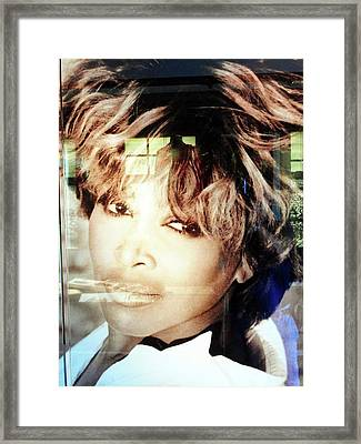 Tina Turner Museum 2 Framed Print