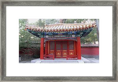 Ting Zi Framed Print by Norman Reutter
