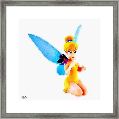Tinker Bell Framed Print