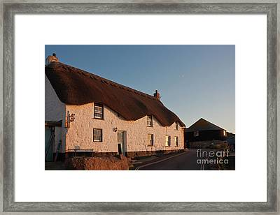 Tinker Taylor Cottage Cornwall Framed Print by Terri Waters