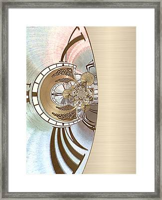 Tinkering - Optimized For Printing On Metallic Paper Framed Print by Wendy J St Christopher