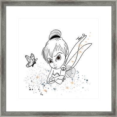 Tinky Framed Print by Tami Dalton