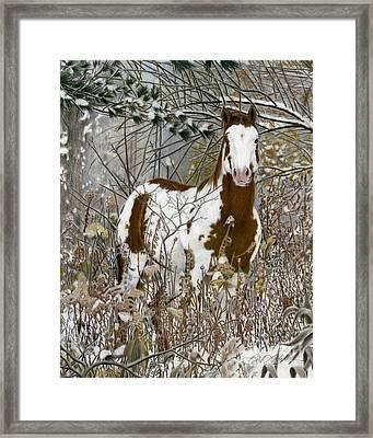 Tinman, Pastel Framed Print